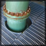 Grating de aço galvanizado do MERGULHO quente para o assoalho e a trincheira