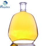 Hoch-Geordnete schwere niedrige Glasflasche für Xo