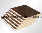 Encofrado de hormigón Film enfrenta la madera contrachapada de 18mm