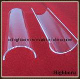 Plaque Vaulted de feuille de partie protégée par fusible par polonais clair en verre de quartz de silice