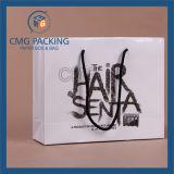 Qualitäts-schwarzer Drucken-Weißbuch-Beutel (CMG-MAY-028)