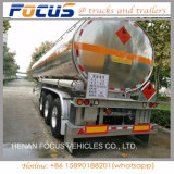 세 배 차축 알루미늄 연료 탱크 트레일러 45000 리터 중국제