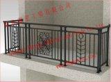 カスタマイズされた装飾的な鉄のバルコニーの塀/ハンドメイドの鉄のバルコニーの塀