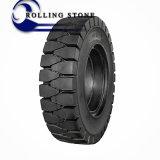 Neumático sólido 18X7-8 de la carretilla elevadora de la exportación de China de la No-Marca blanca caliente del neumático 18X7-8
