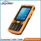 Dispositivos independientes Handheld IP65 del programa de lectura androide rugoso PDA del sistema RFID NFC