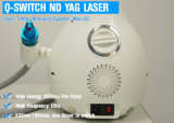 Mini máquinas portables del retiro del tatuaje del laser del ND YAG