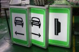 High Luminosité LED Alimentation électrique Tube câblé Signalisation de stationnement d'urgence