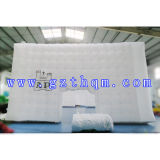 Professionele Opblaasbare het Kamperen van de Bel Tent/de Witte Tent van de Bel van Decoratie Opblaasbare