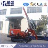 태양 기술설계 (hfpv-1A)를 위한 태양 부딪치게 하는 기계 유압 소형 말뚝박는 기구