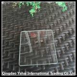 verre de flotteur Unltra-Blanc de R-Angle de 4mm avec le bord de meulage approximatif