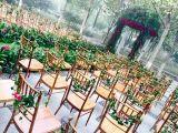 호텔 연회 사건 의자를 식사하는 현대 결혼식 Chiavari
