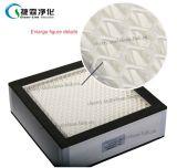 Fornecedor de fibra de vidro de alta eficiência Mini Pleat filtro HEPA H13