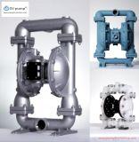 Pneumatische doppelte Membranpumpe, Aluminiumlegierung-pressluftbetätigte Pumpe