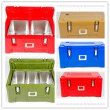 65L se garder au chaud ou du refroidisseur d'aliments contenant de plastique avec isolation zone de livraison, boîte d'isolation thermique pour la livraison de nourriture