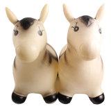 Inflable de plástico mundo natural de animales salvajes caballo cebra Toy