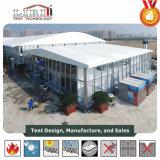25X60m grosses weißes Zelt für Parteien und Hochzeit, Ausstellung und Sport