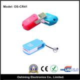 Mini micro lettore di schede girante di TF/SD (OS-CR41)