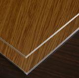 Het houten PE Kleur Met een laag bedekte Blad van de Rol van het Aluminium