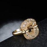 De vierkante Ring van het Roestvrij staal van de Juwelen van Artifcial van de Vrouwen van de Vorm Elegante