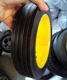 Garten-Schlussteil-Durchbohrung-halb pneumatisches Gummirad des Zoll-12*3