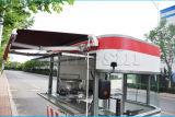 Cer-anerkannte Eiscreme, die mobilen Küche-LKW für Verkauf verkauft