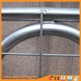 Cancello galvanizzato personalizzato dell'azienda agricola del metallo con il tubo saldato del blocco per grafici