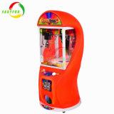 최고 상자 2 판매 다채로운 장난감 기중기 기계 실내 동전에 의하여 운영하는 게임을%s 소형 기중기 클로 기계
