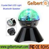 Magischer Kristallheller drahtloser Handy-Lautsprecher der kugel-LED