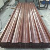 Galvnaized Metalldach/Farben-Stahldach, gewölbtes Dach-Blatt