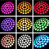 36pcs*10W de luz LED Wash moviendo la cabeza
