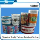 Venda Grau Alimentício plástico laminado BOPP/CPP/PE plástico, rolo de filme de Acondicionamento Automático