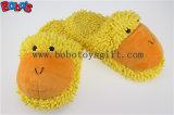 Les femmes antidérapant chaussures farcies animal en peluche grenouille doux accueil pantoufles