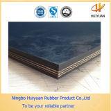 Correia transportadora de borracha reforçada matéria têxtil da fábrica chinesa (NN250)