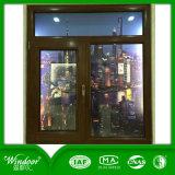 Plattiertes festes Holz-Aluminiumfenster