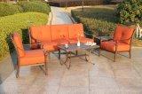 標準的な雑談のソファーの一定の屋外の庭の家具