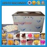 Máquina fritada comercial do gelado
