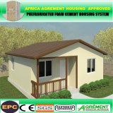 Низкая стоимость панельного дома здания стальной структуры рамки ISO светлая