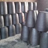 Precio de fábrica de hierro de fundición Industrial de aluminio bronce cobre Sic crisol horno de grafito de carburo de silicio para la venta la fusión