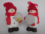 OEM het Hete Terracotta Deocration van de Ambachten van de Hars van de Giften van Kerstmis van de Verkoop
