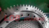 Engrenagem externa cruzada Único-Fileira 9e-1z10-0152-0524 do rolamento do giro do rolo