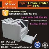 1200 A4 A3 Hand het Voeden van de Omslag van de Vouw van het Document van de Grootte Sheets/H Half Bureau dat Machine vouwt