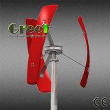 Piccolo generatore di turbina verticale del vento di asse per uso domestico