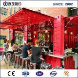 40のショッピング商品の通りのためのFTによって組立て式に作られる容器の家