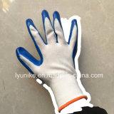 Китай поставщиком 13G нейлон вязки нитриловые перчатки промышленности с покрытием