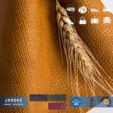 1.2 het in reliëf gemaakte Synthetische Leer van pvc van Vier Kleuren Semi met Geweven Patroon voor Zakken, Schoenen