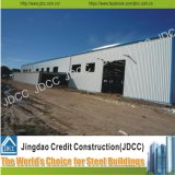 Construction en acier d'atelier d'usine d'isolation de coût bas