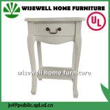 Antike Möbel-hölzerner seitlicher Vorstand-Schrank im Wohnzimmer