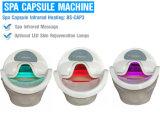 Het stomen van Hydropathic Capsule voor de Capsule van het KUUROORD Solarium SPA