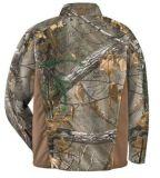 Piscina Inverno Parka isolados à prova de desgaste da camisa de caça