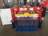 Métal de trapèze de Dixin couvrant le roulis automatique formant la machine